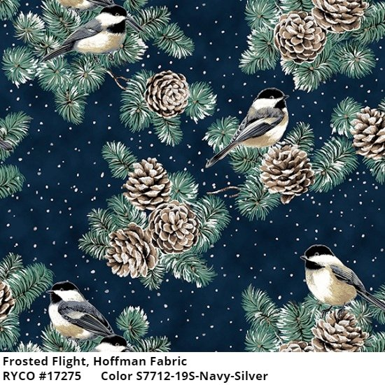Frosted Flight by Hoffman Fabrics