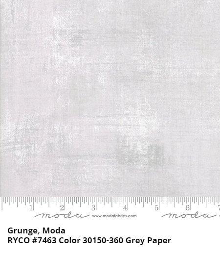 Grunge by Moda Fabrics- GREY PAPER