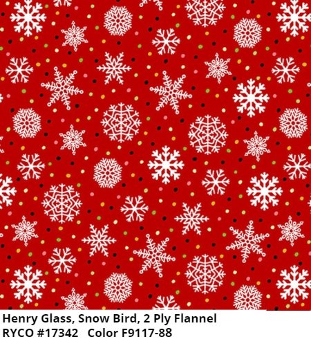 Snow Bird by Barb Tourtillotte for Henry Glass