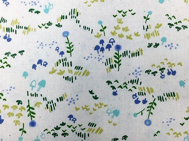 Mori no Tomodachi by Cotton & Steel (HO106-GR3U)