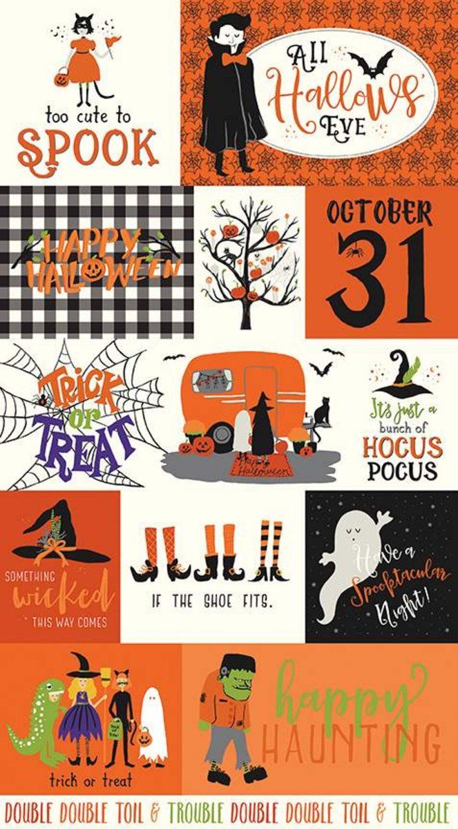 Hocus Pocus Panels by Riley Blake
