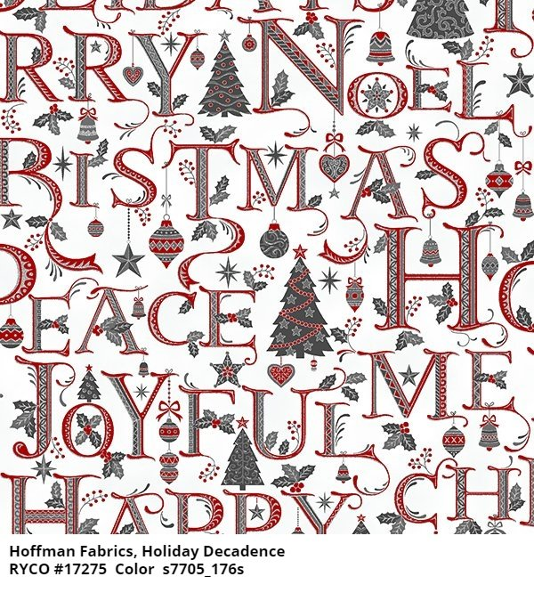 Holiday Decadence by Hoffman Fabrics