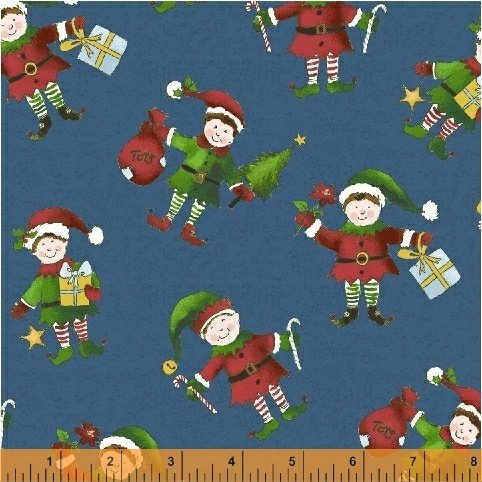 Holly Jolly Christmas by Windham Fabrics (51169-3)