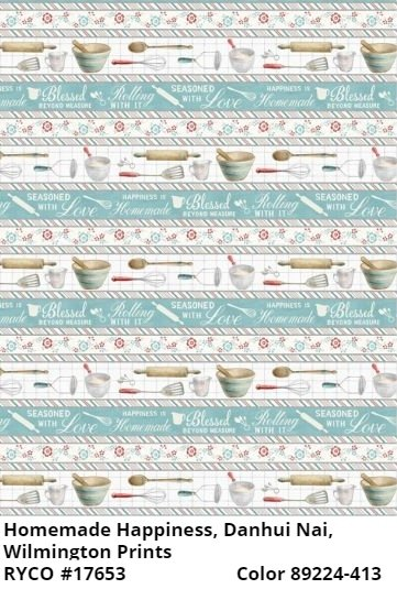 Homemade Happiness by Danhui Nai for Wilmington Prints