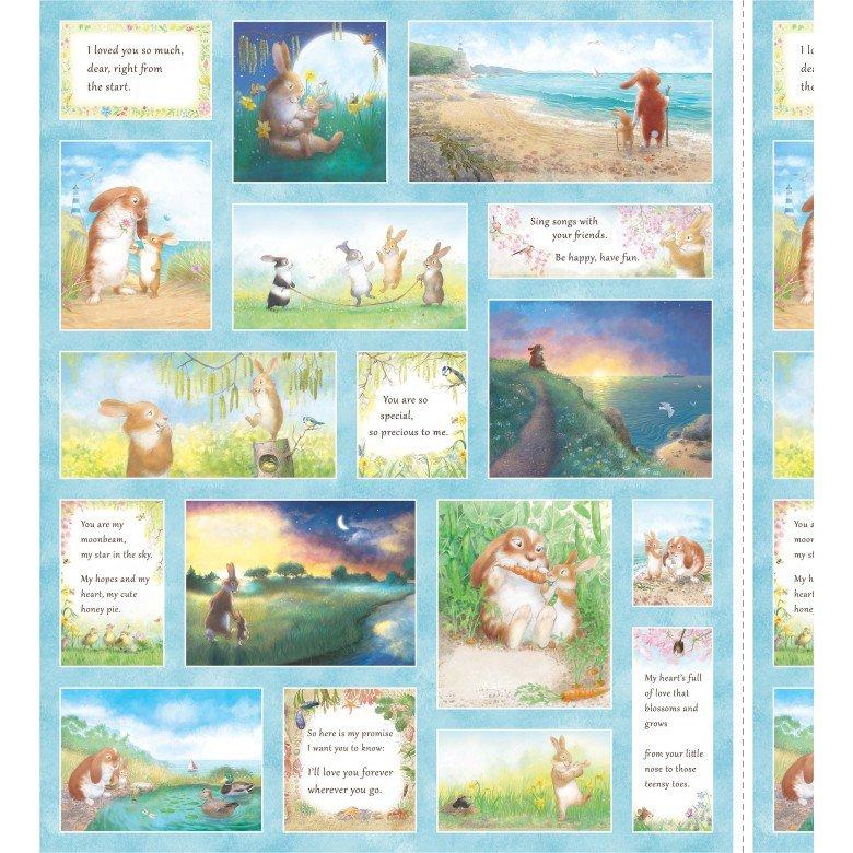 Honey Bunny Panels by Michael Miller