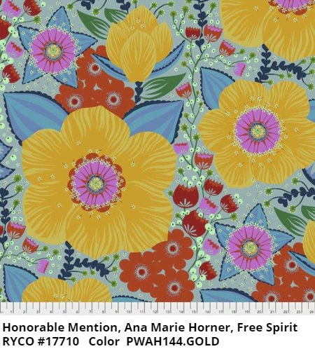 Honorable Mention by Anna Maria Horner for Free Spirit