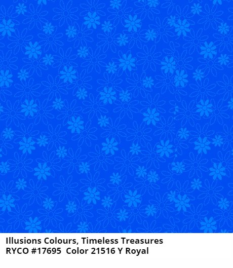 Illusions Colours by Quilting Treasures