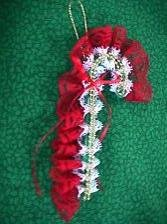 Candy Cane Lace #30649 - solid colors