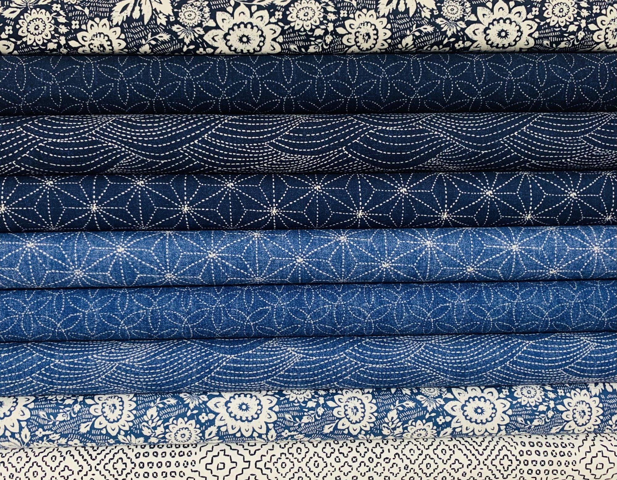 Sashiko by Whistler Studios for Windham Fabrics