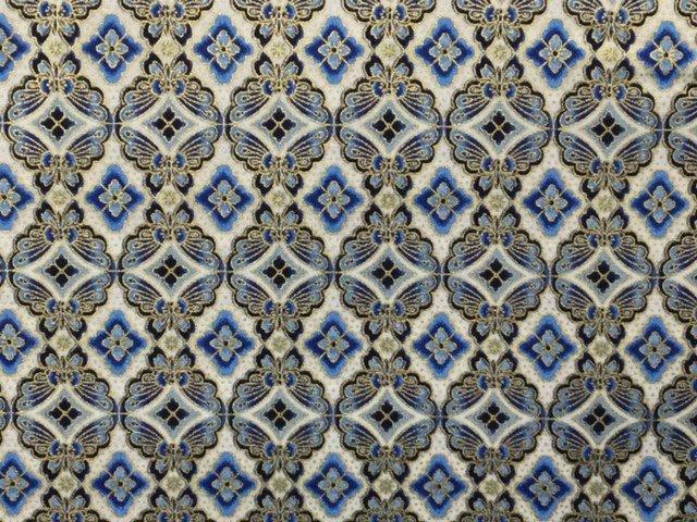 Imperial Collection Metallic 15 by Robert Kaufman (AHYM-18626-62 INDIGO)