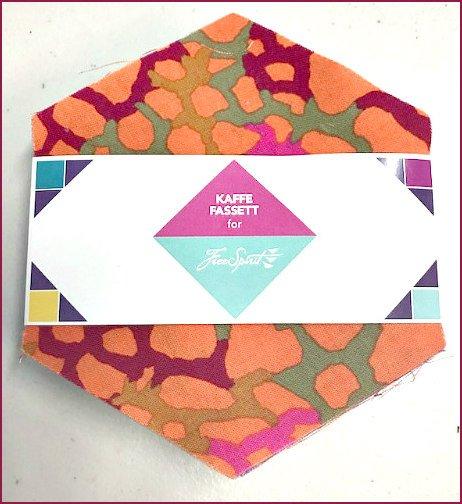 Kaffe Fassett Collective Hexagon Pack by Free Spirit