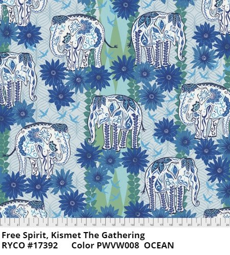 Kismet by Valori Wells for Free Spirit Fabrics - The Gathering
