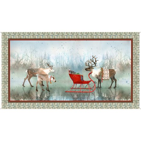 Lake Caribou Panels by Quilting Treasures