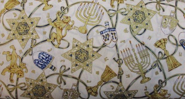 Hanukkuah by Alexander Henry Fabrics (M181A)