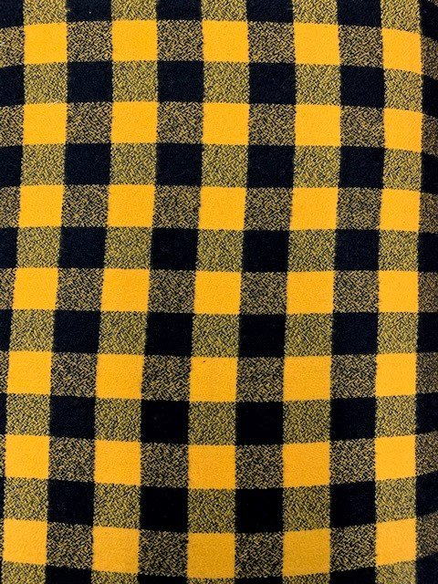 Mammoth Flannel by Robert Kaufman (SRKF-16944-5 YELLOW)