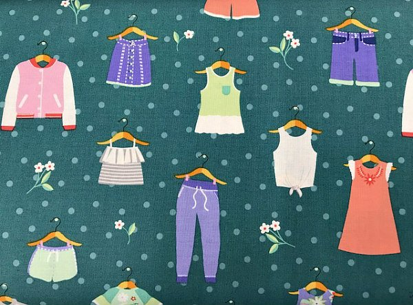 Summer Clothing by Michael Miller (CX8185-SUMM-D)