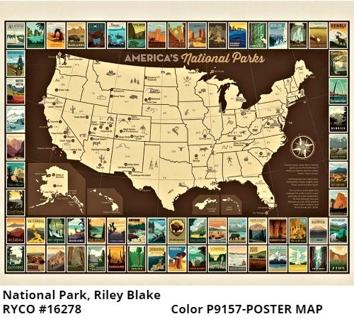 National Park 3 by Riley Blake Designs
