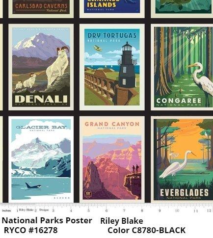 National Parks Poster Riley Blake Designs