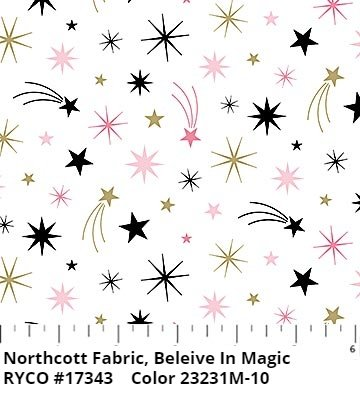 Believe in Magic by Sandra Will for Northcott