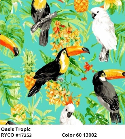 Tropic Cotton by Oasis Fabrics