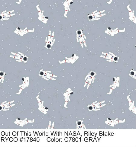 Out of This World With NASA by Riley Blake