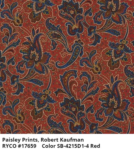 Paisley Prints by Robert Kaufman