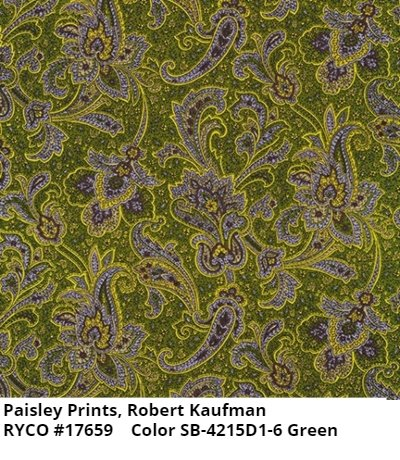 Paisley Prints by Robert Kaufman