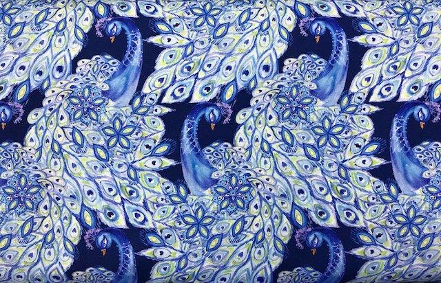 Peacock Paradise by Free Spirit (PWCH009-INDIG)