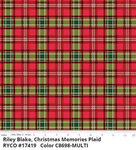 CHRISTMAS MEMORIES by Riley Blake