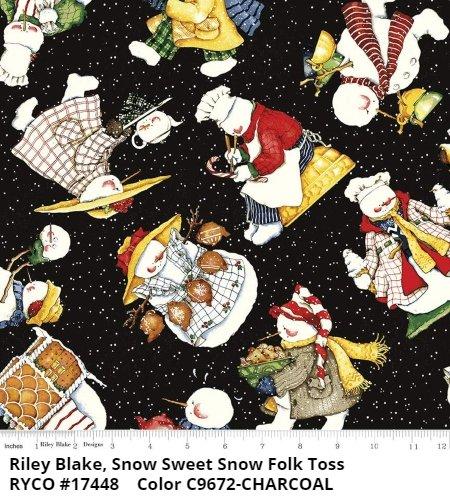 SNOW SWEET by J. Wecker Frisch & Riley Blake