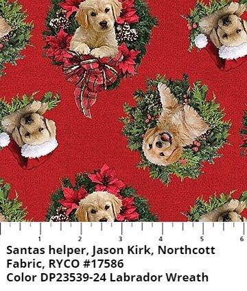 Santa Helpers by Jason Kirk for Northcott Fabric