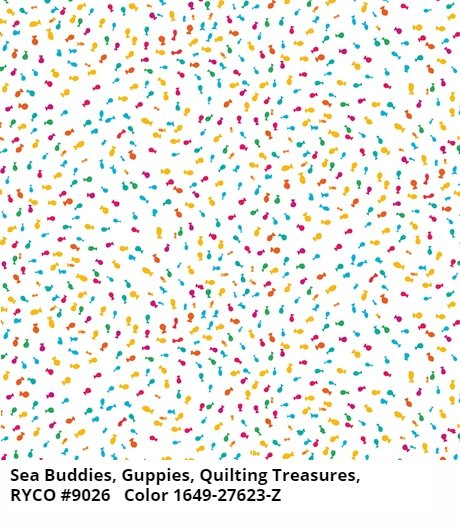 Sea Buddies by Quilting Treasures