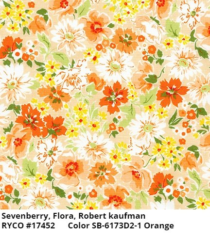 Flora by Sevenberry for Robert Kaufman