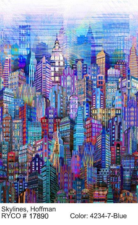 Skylines by Hoffman Fabrics