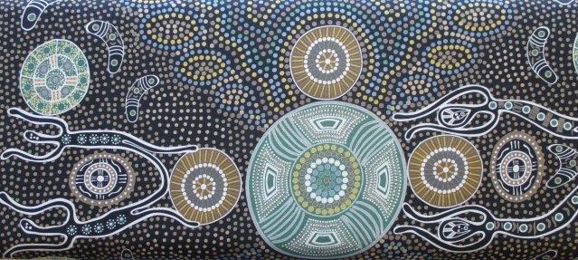 Australian Prints by M&S Textiles (SPIRIT-PEOPLE-CHARC)