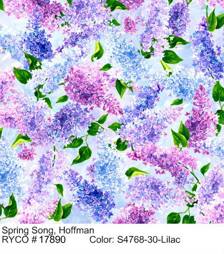 Spring Song by Hoffman Fabrics