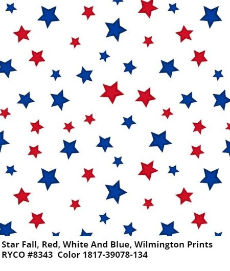 Star Fall by Wilmington Prints