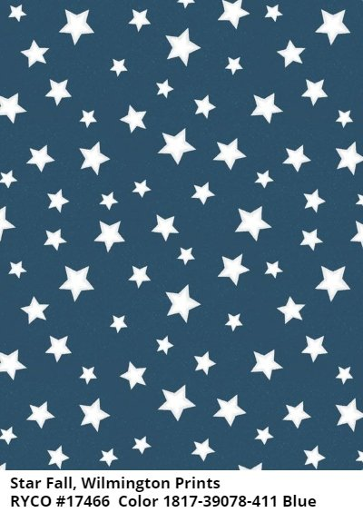 Starfall by Wilmington Prints- Blue