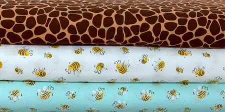 Sweet Bees, Zoe The Giraffe by Susybees for Clothworks
