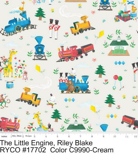 The Little Engine That Could by Riley Blake