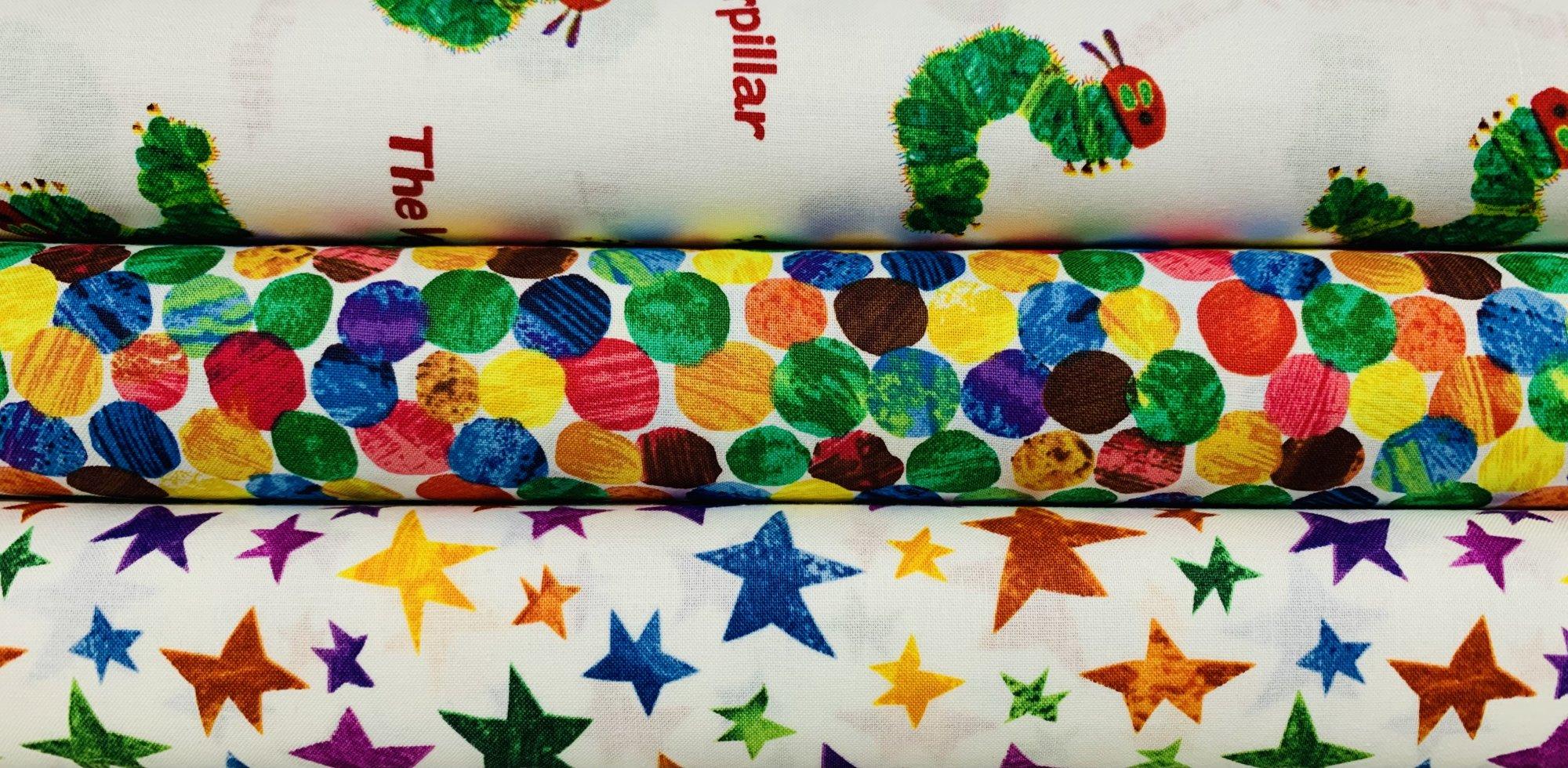 The Very Hungry Caterpillar Classics by Andover Fabrics
