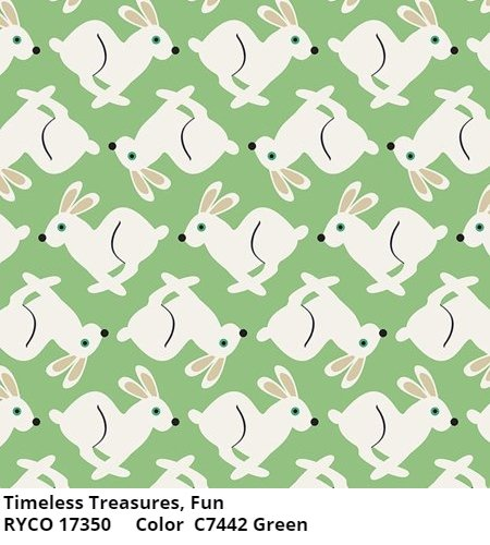 FUN by Timeless Treasures-Green