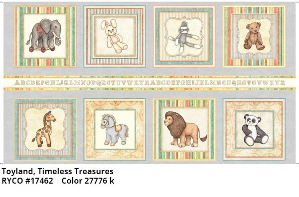 Toyland by Quilting Treasures- Toy Patch