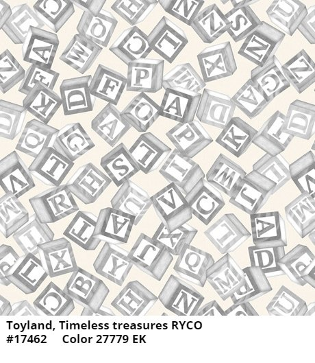 Toyland by Quilting Treasures- Tossed Blocks