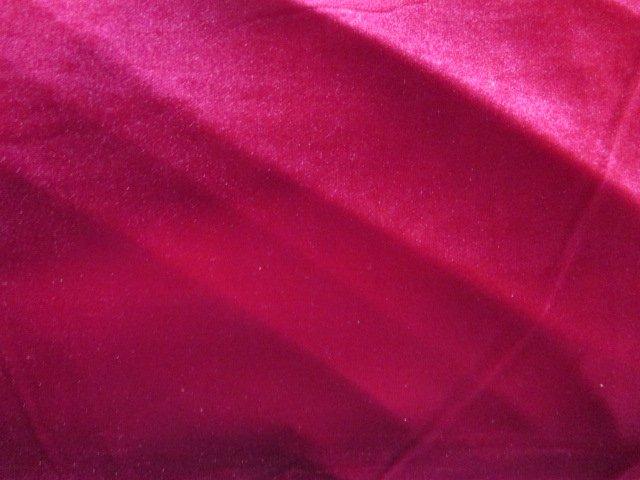 Red Stretch Velvet (VT0504-565)
