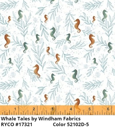Whale Tales by Windham Fabrics