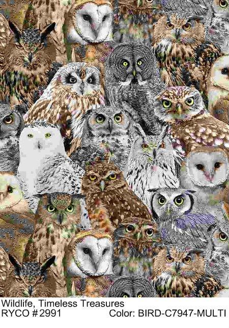 Wildlife by Timeless Treasures