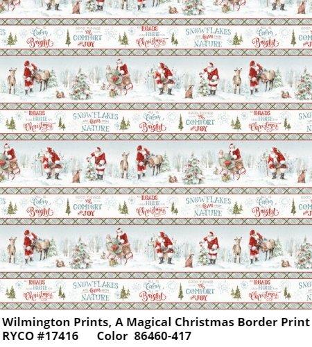 A Magical Christmas by Lisa Audit & Wilmington Fabrics