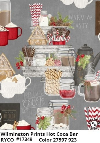 Hot Cocoa Bar by Danielle Leone for Wilmington