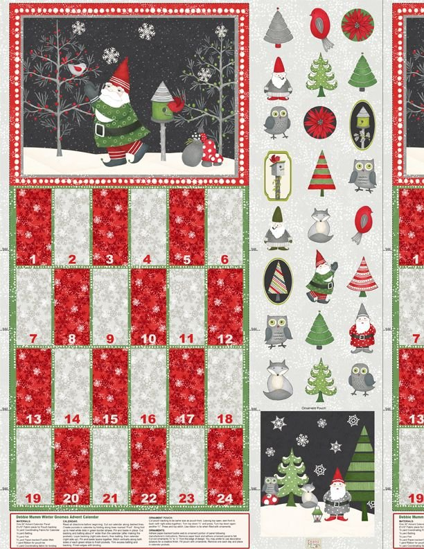 Winter Gnomes Calendar by Wilmington Prints (1862-67570-937)